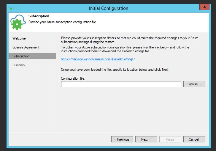 Veeam direct restore to Azure | ntSystems info tech
